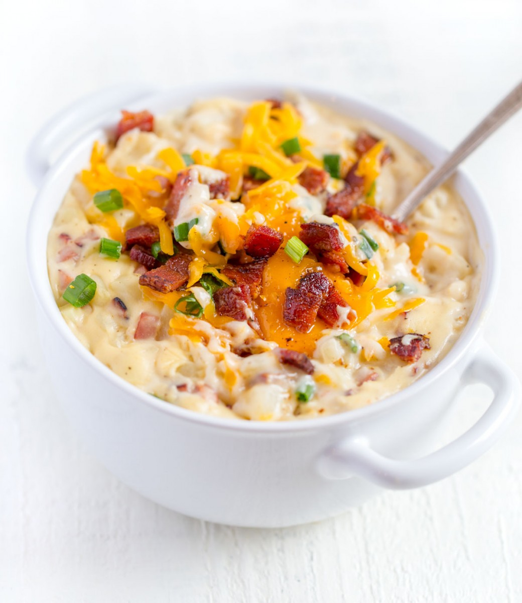 Loaded Baked Potato Soup | Quick Easy Recipe!