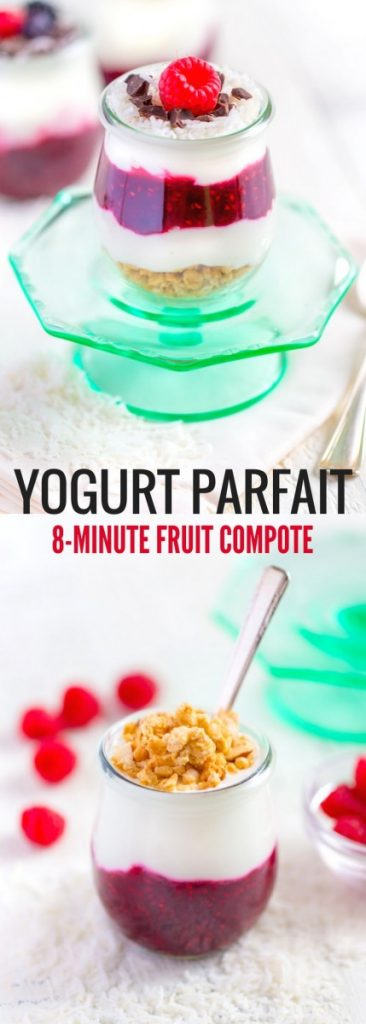 Yogurt Parfait with Fruit Compote