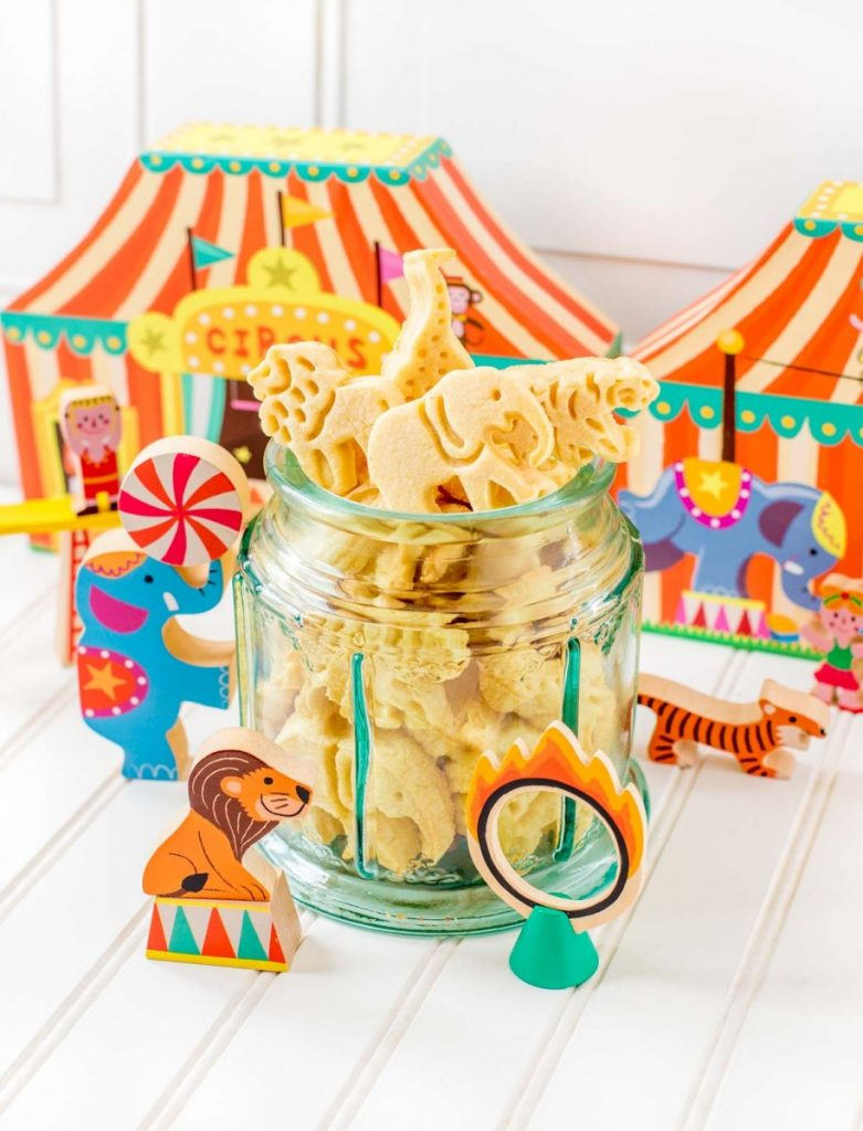Homemade Circus Animal Crackers