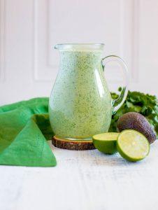 How to make Creamy Cilantro Lime Dressing