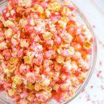 Pink Popcorn Recipe