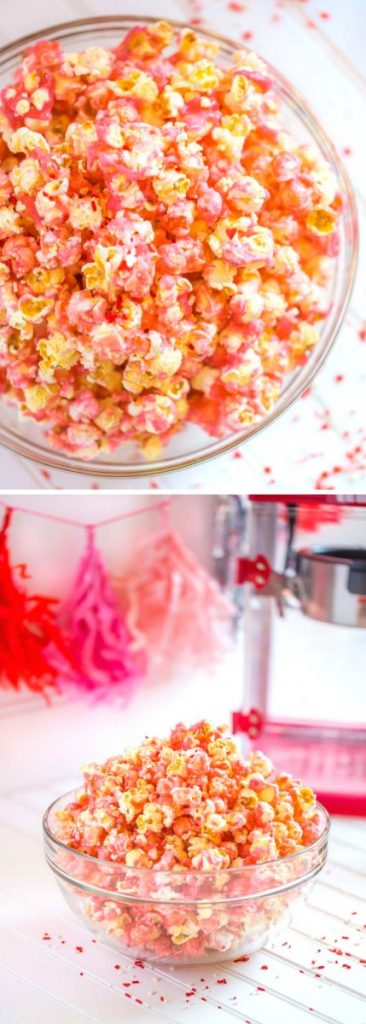 Candy Store Pink Popcorn Recipe