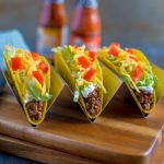 Taco Bell Copykat Recipes for ground beef tacos.