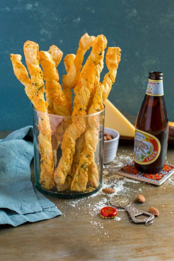 Twisted Cheese Straws recipe.
