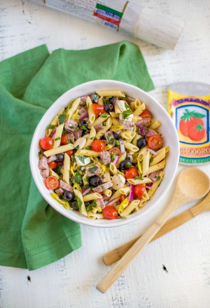 Best Italian pasta salad recipe.