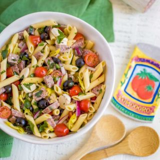 Downright Delicious Italian Pasta Salad