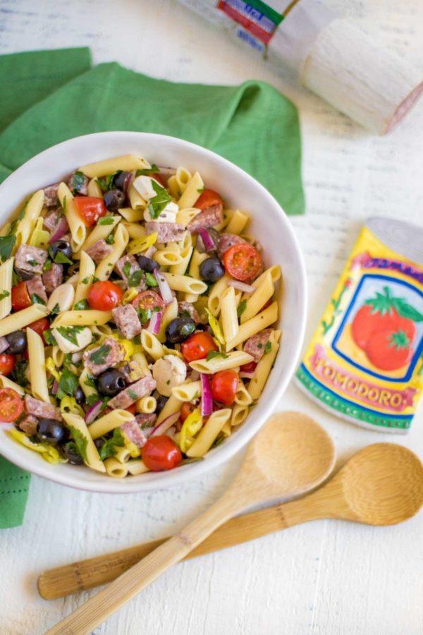 Downright Delicious Italian Pasta Salad