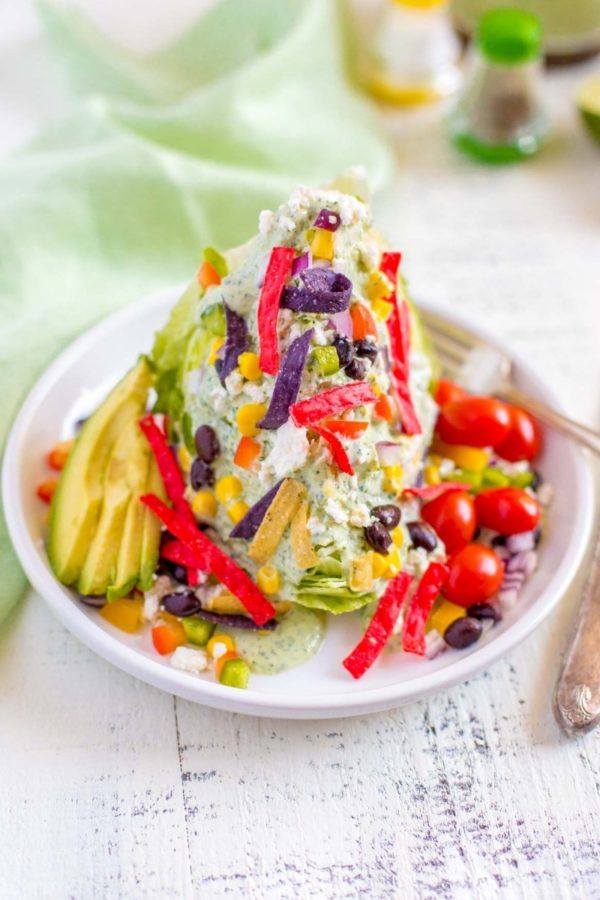 Flavorful Mexican Wedge Salad