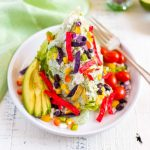 Wedge Salad Recipe served with colorful ingredients.