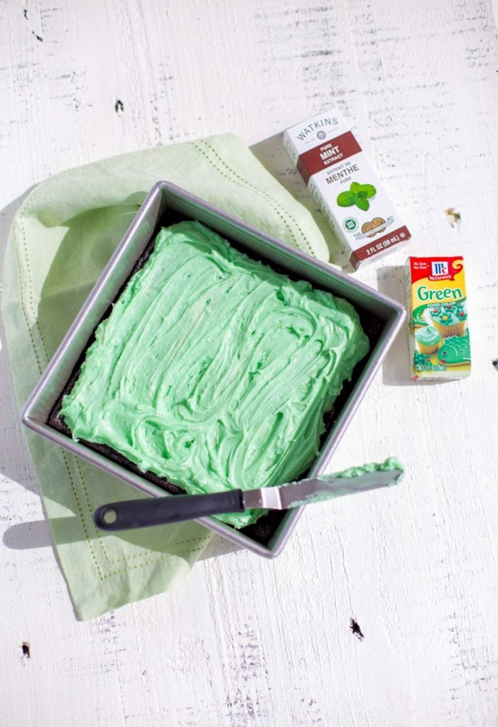 How to Make Mint Frosting