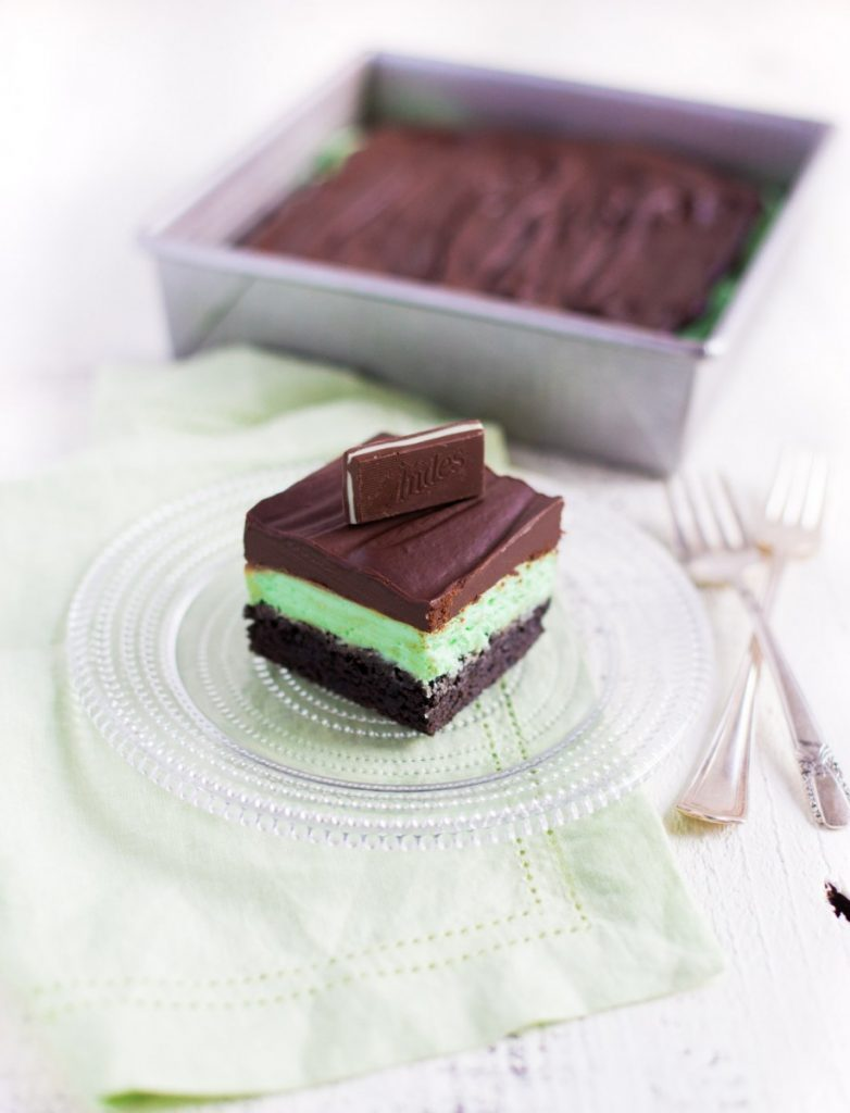 Best chocolate mint brownies
