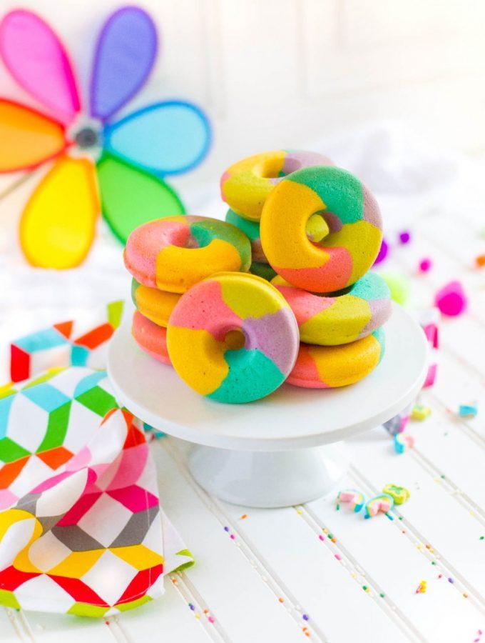 Rainbow Donut Recipe
