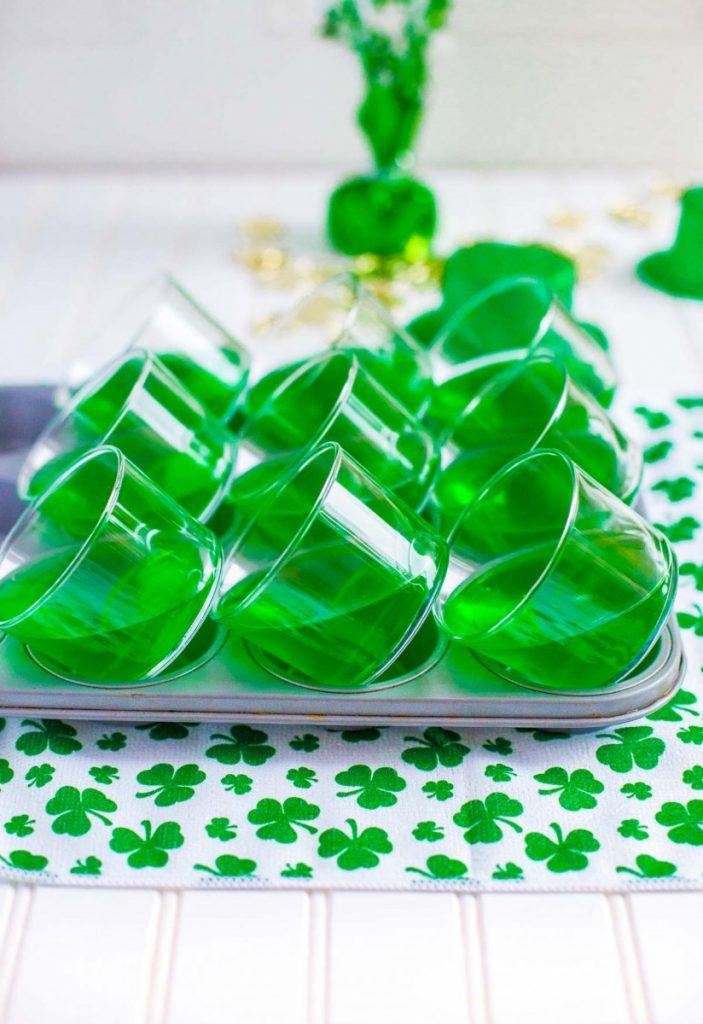 Gelatin recipe for St. Patrick's Day