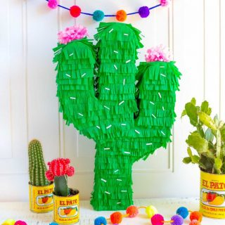 Cinco de Mayo Menu Ideas + DIY Cactus Pinata