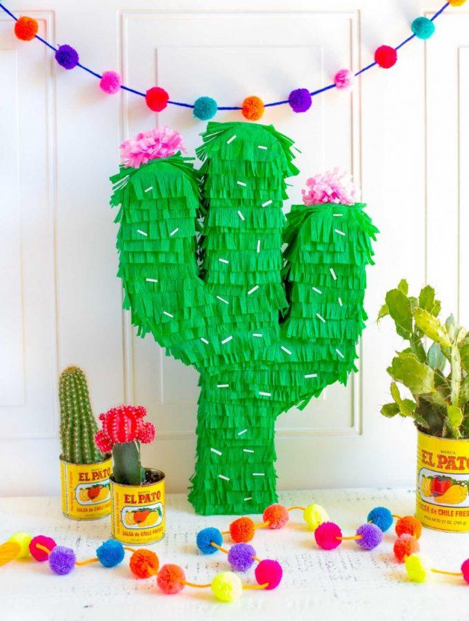 Cinco De Mayo Recipes and DIY Cactus Pinata