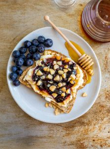 Sweet and Savory Breakfast Sandwich