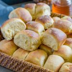 Hawaiian Sweet Bread in a basket