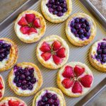 Fruit and Cream Cheese Danish Pastry