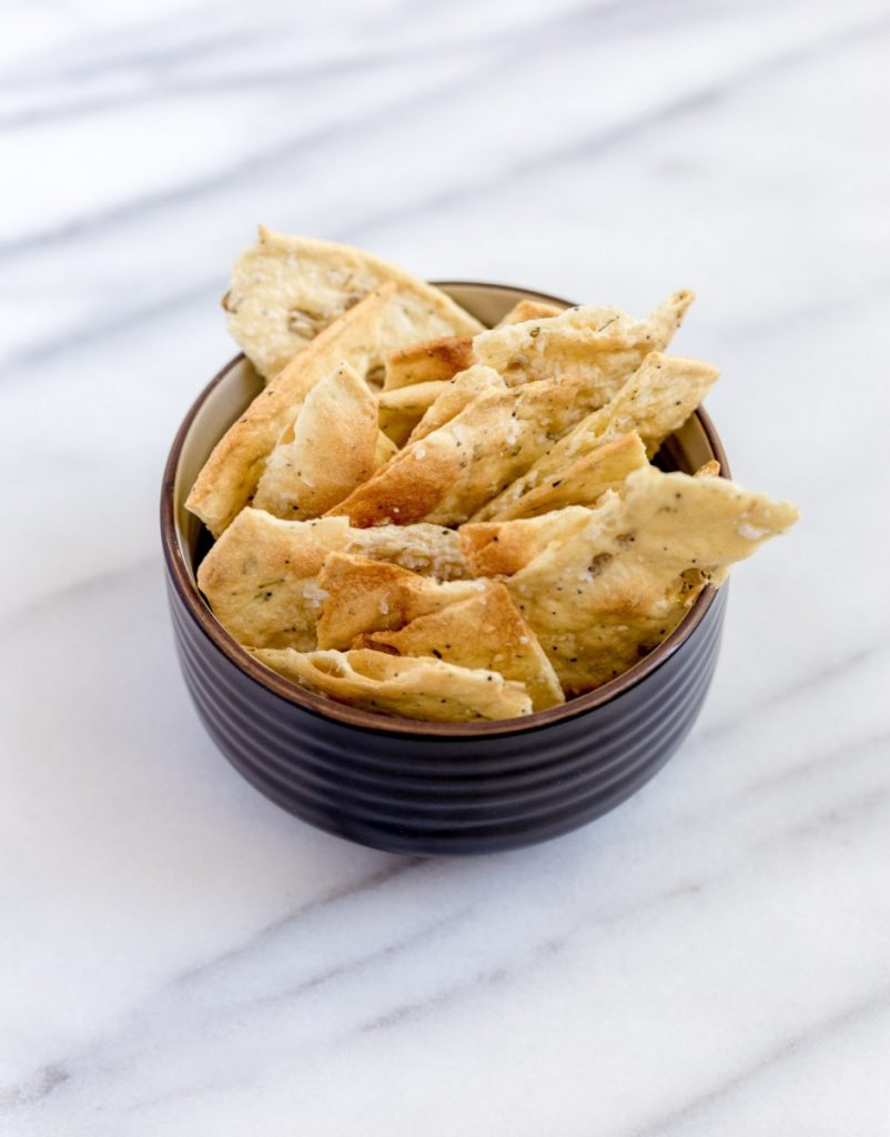 Crispy Homemade Flatbread Crackers
