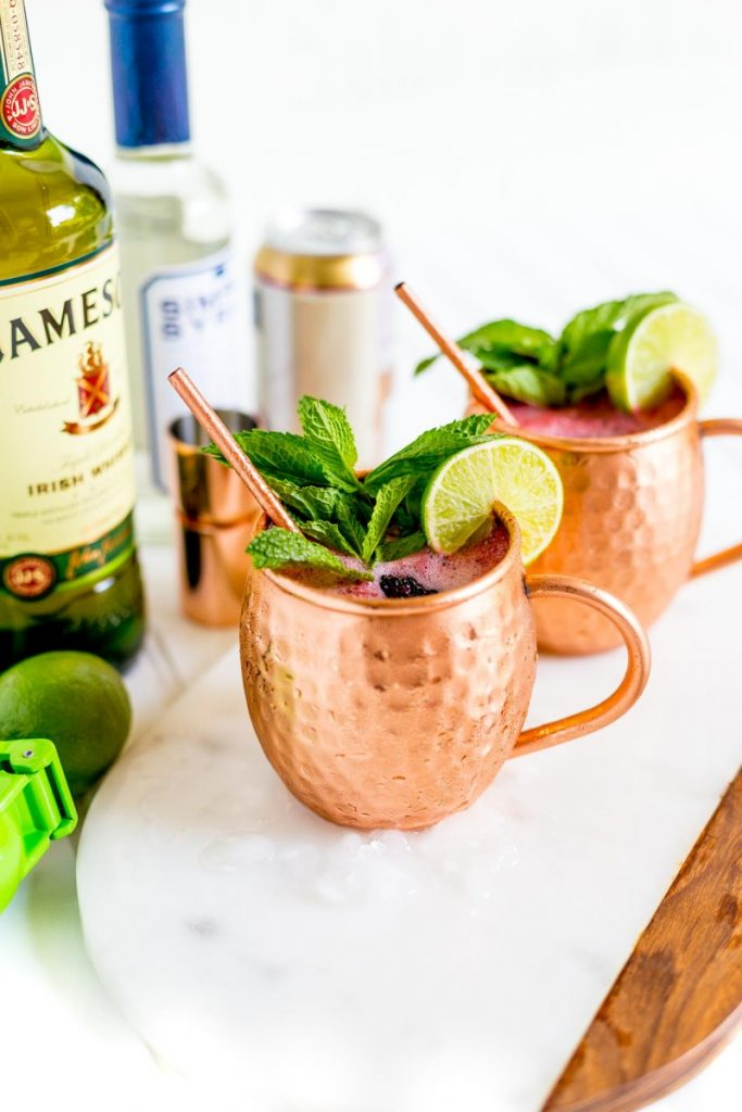 Blackberry Mule Drink