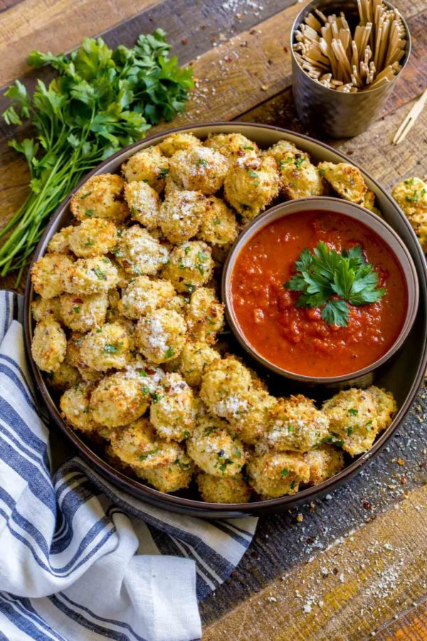 Cheese Tortellini Party Snacks