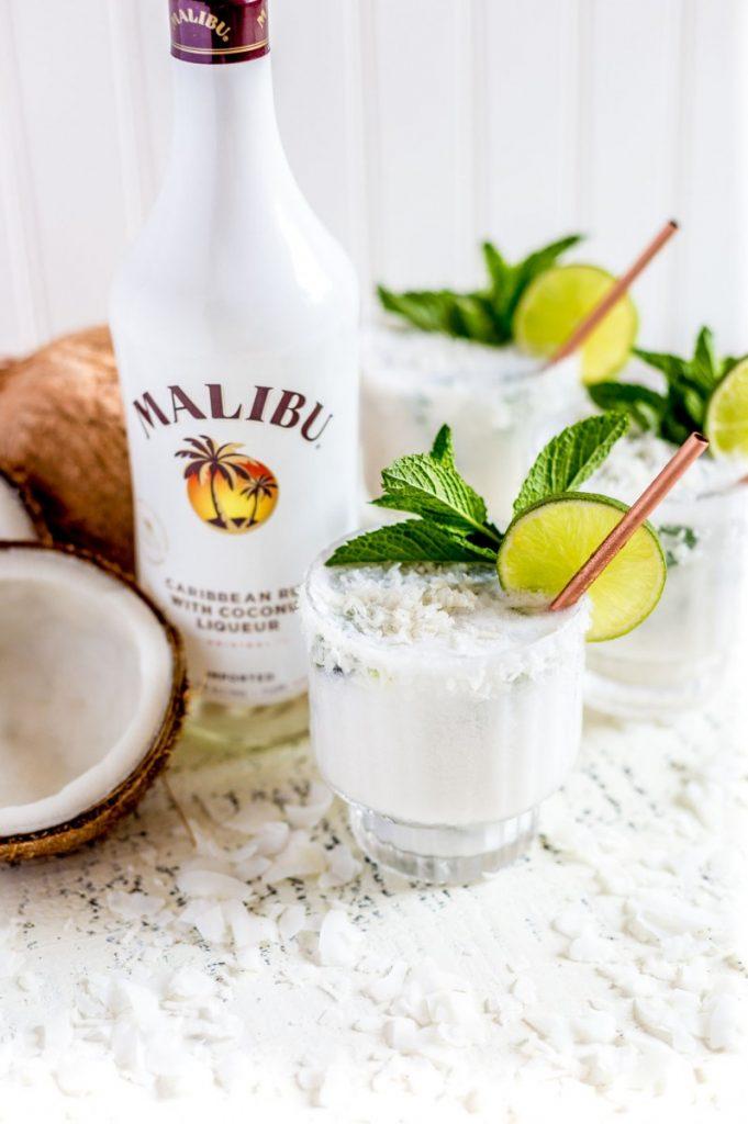 Malibu Mojito Cocktail