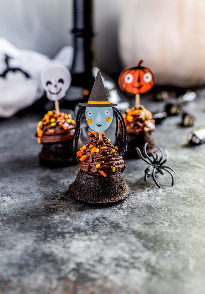 Halloween Brownie Bites Super Adorable Easy Recipe