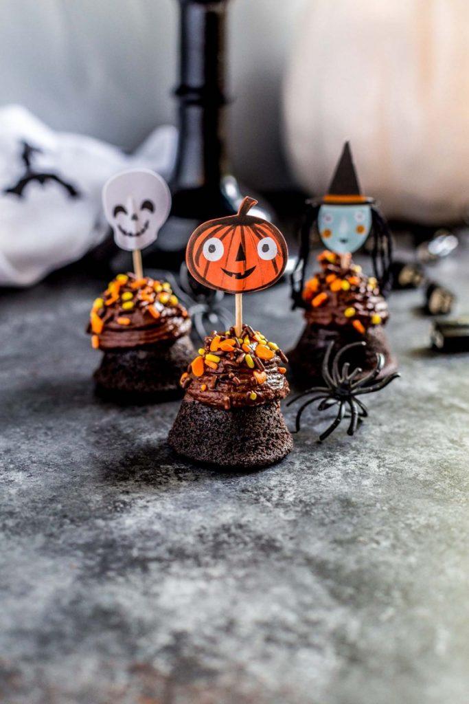 Halloween Brownie Bites Super Adorable Easy Recipe