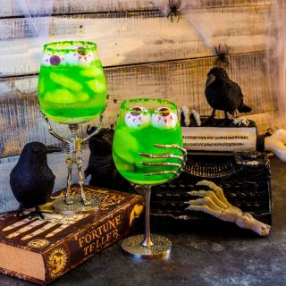 Grave Digger Halloween Cocktails with Tequila