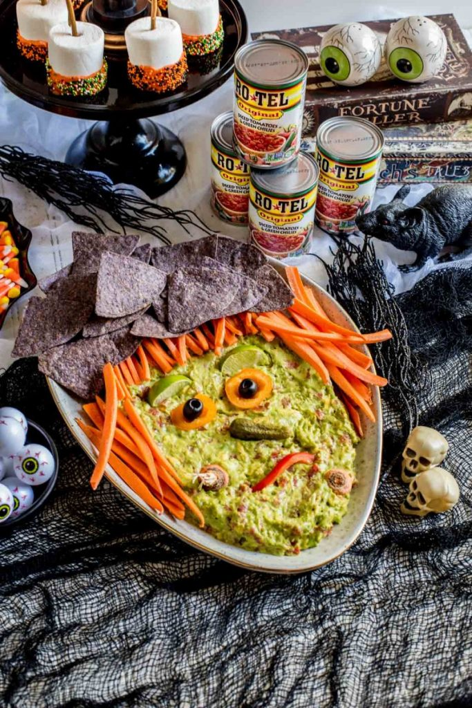 Spooky Guacamole Witch