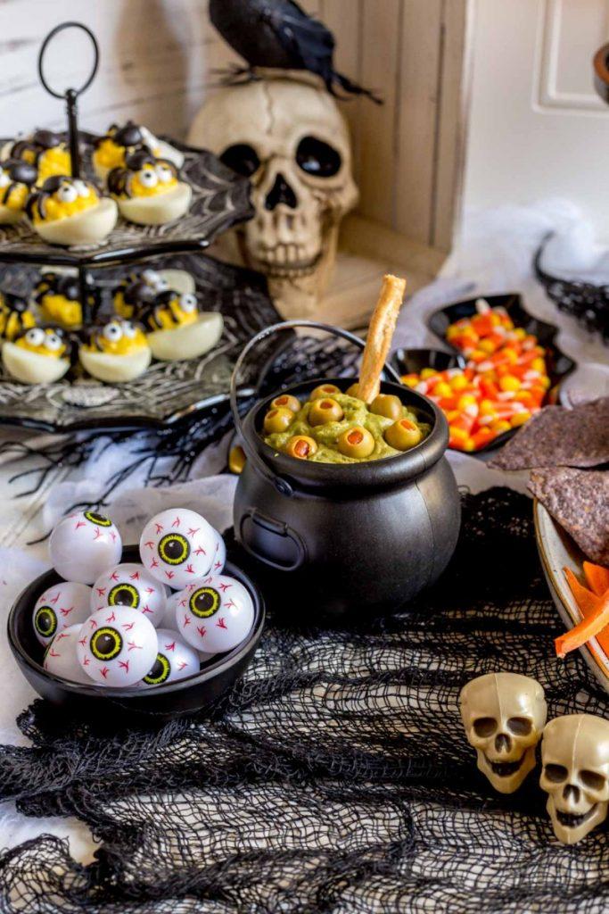 Guacamole for Halloween
