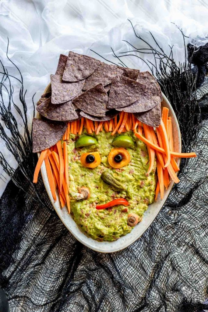 Guacamole Witch for Halloween