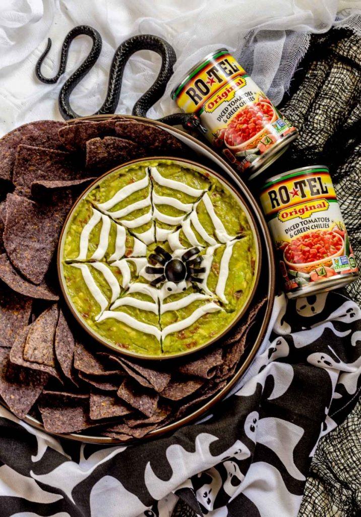 Guacamole Spider Web