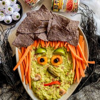 Halloween Guacamole Witch
