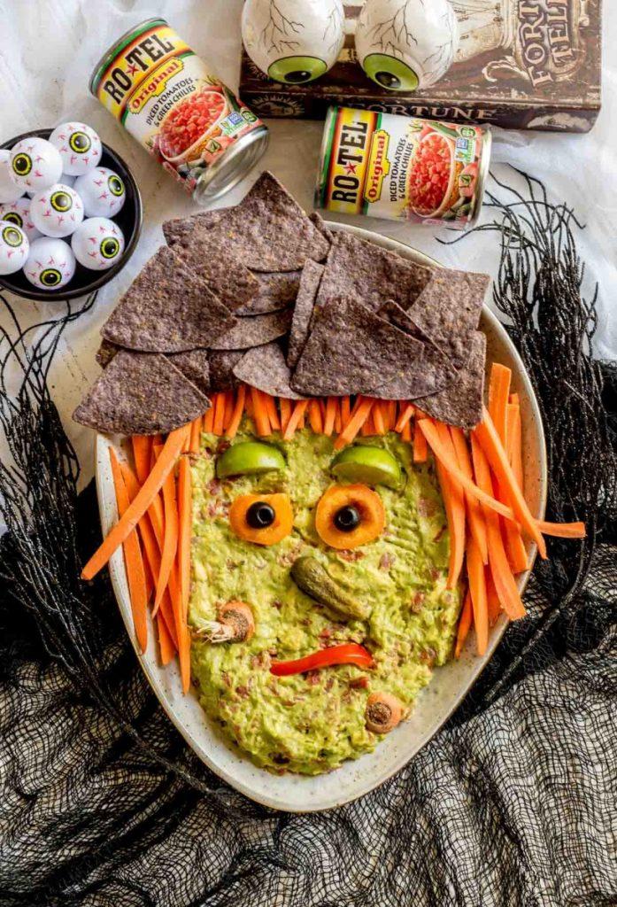 Guacamole Halloween Appetizers
