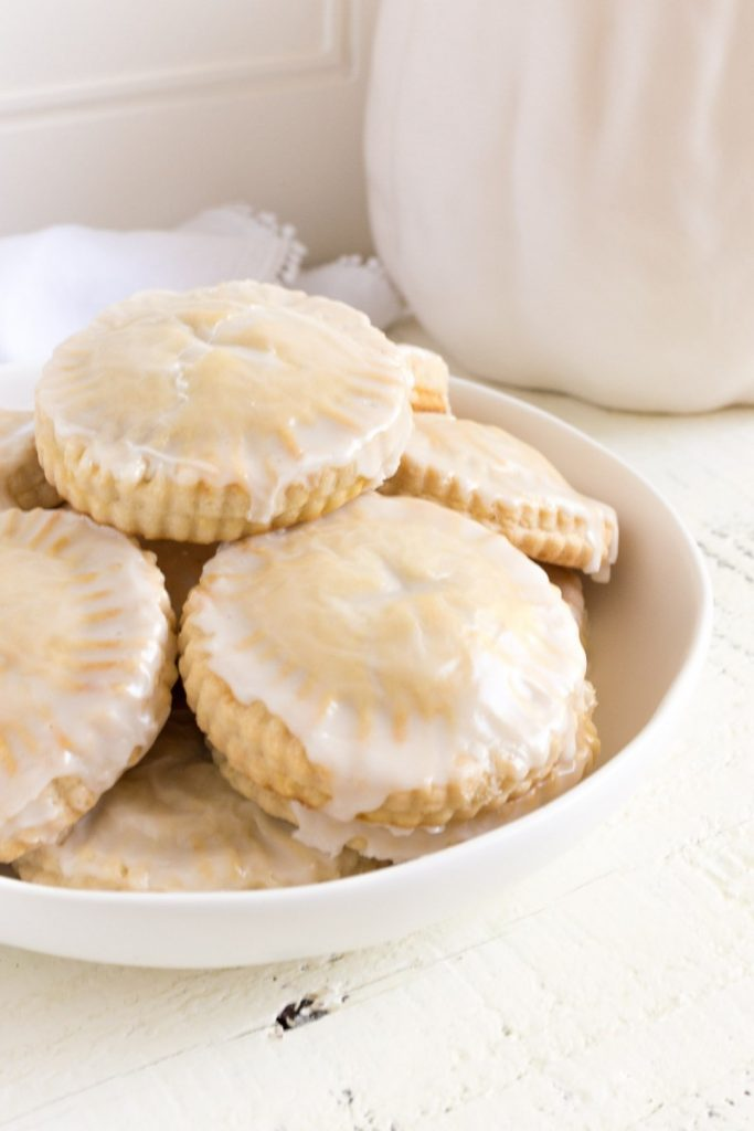 Mini Pumpkin Pies with Vanilla Glaze