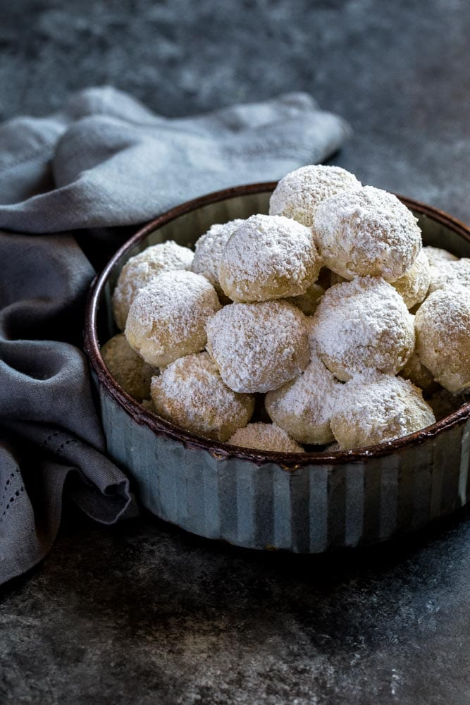 Mexican Wedding Cookies AKA Snowball Cookies