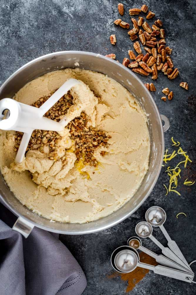 Cookie dough for Polvorones.