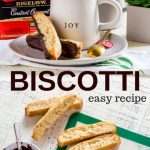 Chocolate Dipped Biscotti