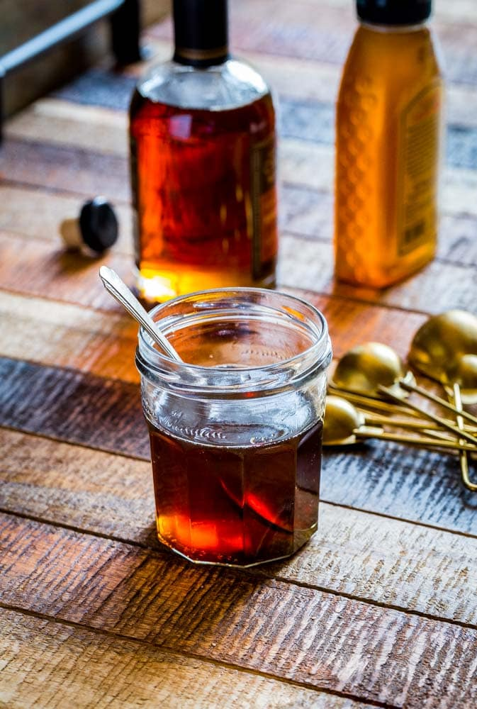 Maple syrup and honey for granola recipe