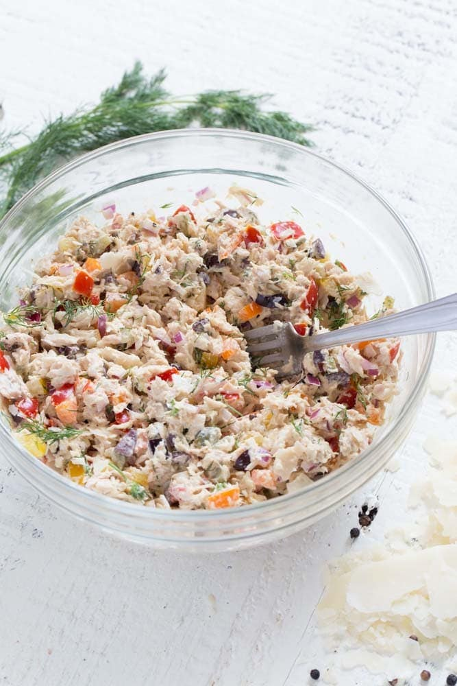 Best Tuna Salad Recipe Healthy Flavorful Confetti Bliss