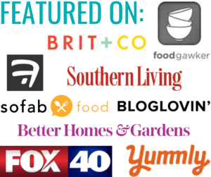A collection of logos for media outlets where Confetti and Bliss has been featured.