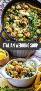 Italian Wedding Soup Pinterest Image