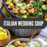 Italian Wedding Soup Pinterest Image