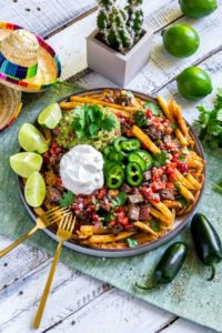 Carne Asada Fries Pinterest Image