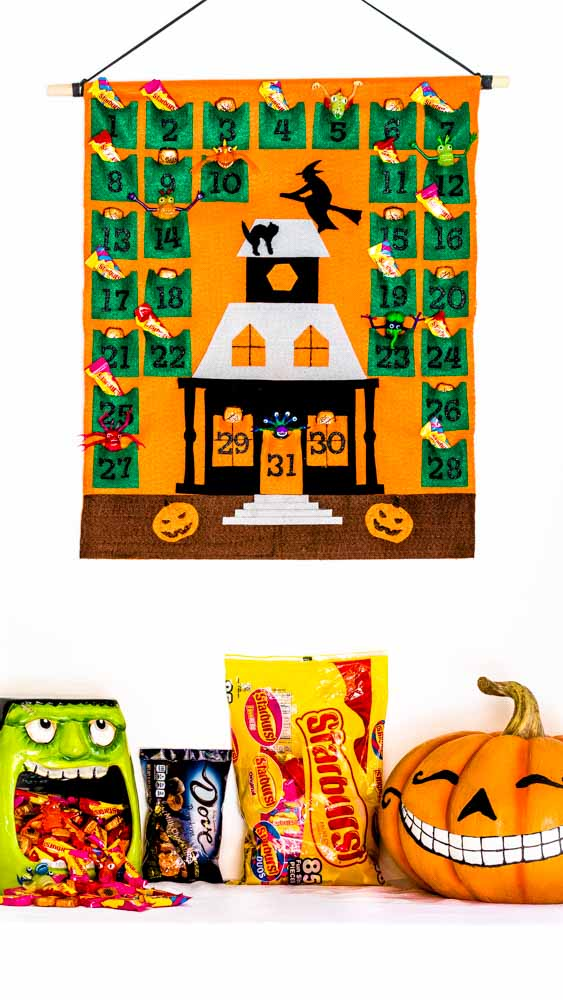 Imaging showing a Halloween Countdown with trick or treat goodies!