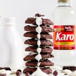 Pinterest Image for Chewy Triple Chocolate Cookies
