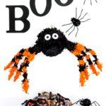 Pinterest Image for DIY Spider Pinata