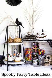 Halloween Party Ideas Pinterest Image