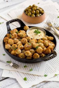 Fried Olives Pinterest Image